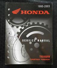 1995-2003 HONDA 400 TRX400 FW TRX400W FOURTRAX FORMAN ATV SERVICE REPAIR MANUAL