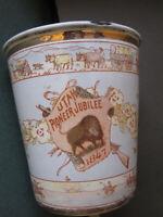 1897 UTAH 50th Pioneer Jubilee Gold cup 1st Mormon Pioneers Salt Lake LDS