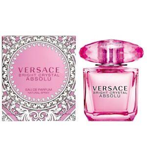 Versace Bright Crystal Absolu Eau De Parfum Spray 30ml Profumo Donna