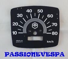 SCALA FONDO PER CONTACHILOMETRI 80 KM/H PER VESPA 50 SPECIAL