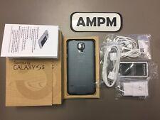New in Box Samsung Galaxy S5 SM-G900V - 16GB Black Unlocked LCD Discoloration