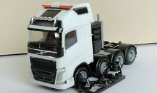 Herpa/AWM, Volvo FH GL XL, 4 Achs Schwerlastzugmaschine, 1:87, weiß, neutral,