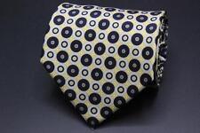 "STEFANO RICCI X Long Silk Tie. Black & Yellow Geometric. 69"" x 4"""