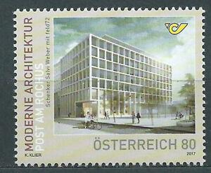 Austria Correo 2017 Yvert 3185 ** Mnh Arquitectura Moderna Post AM Rochus