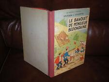 SYLVAIN ET SYLVETTE 8 LE BANQUET DE MONSIEUR BEDONDAINE - EO 1963 CARTONNEE