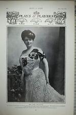 1903 Imprimé Miss Jessie Maclachlan Lecteur Écossais Singer