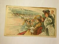 Antique Postcard Fashionable in New York Series B Horse Show W.R. Hearst 1904 F3