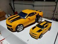 Transformers Hasbro Takara Bumblebee ROTF Battle Ops, & 4 inch Bumblebee