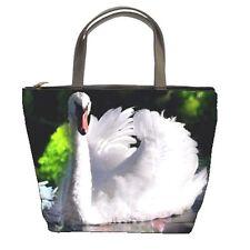 WHITE SWAN womens Bucket bag zippered handbag IMAGE 2 SIDES 95604584