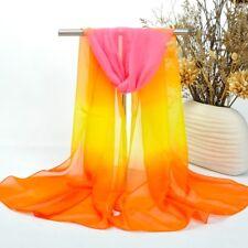 Foulard Echarpe Femme Mousseline Multicolores_MBBF768