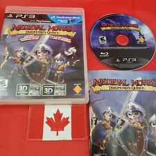 Medieval Moves: Deadmund's Quest (Sony PlayStation 3, 2011) CIB PS3