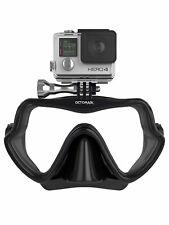 Octomask Frameless: Scuba & Snorkeling Mask with GoPro Mount