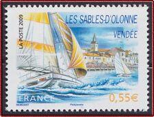 2009 FRANCE N°4334** Les Sables d'Olonne BATEAU Voilier France 2009 sailboat MNH