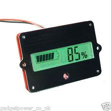 12v Batería Tester capacidad monitor LCD de montaje del panel de plomo de litio 24/36/48v