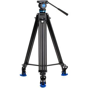Benro KH26P Aluminium 3-Section Dual-Tube Video Tripod Kit