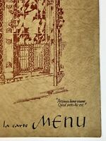 Restaurant Menu Arnaud's French Creole New Orleans French Quarter Wine List Food