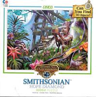 "Smithsonian Hope Diamond Hidden Expedition 1000 pc 27"" x 20"" puzzle Ceaco 2015"