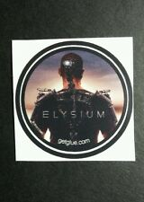 "ELYSIUM MATT DAMON BACK OF HEAD PHOTO MOVIE SM 1.5"" GET GLUE GETGLUE STICKER"