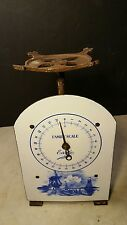 Antique Circa 1900 Eagle Family Scale Porcelain Delft Kitchen- A Beauty