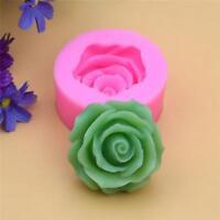 3D Rose Flower Silicone Fondant Chocolate Mould Cake Decor Sugarcraft Mold QK