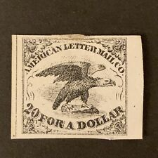 L8/24 US Stamp BOB Local STAMP 5L1 American Letter Mail Co. 20 For $1 MHNG?