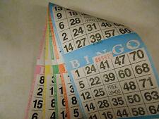 BINGO PAPER--2 CARDS/SHEET 5 SHEETS/BOOK-625 TOTAL BOOKS