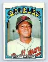 1972 Topps Grant Jackson . #212