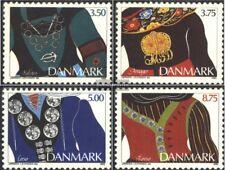 Danemark 1064-1067 (édition complète) neuf 1993 Trachtenschmuck