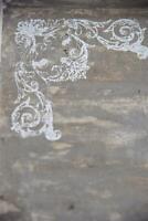 Jeanne d'Arc Living Vintage Schablone Corner Stempel Hjoerne 14x14cm Stamp