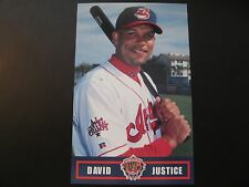 2000 David Justice Cleveland Indians Post Cards / Postcards