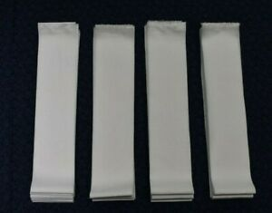 SOLID WHITE 2.5 Inch  JELLY ROLL STRIPS