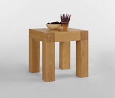 Solid Wood Square 30 cm - 50 cm Width Side & End Tables