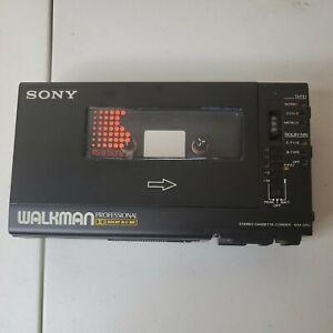 SONY WM-D6C Walkman Professional Cassette Player Recorder  (PARTS ONLY)