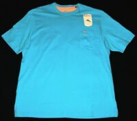 Tommy Bahama Men's T-Shirt SS Breeze Blue Size Small & Large TB224055M NWT $50