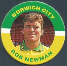 MERLIN 1995-PREMIER LEAGUE 95 POG- #172-NORWICH CITY-ROB NEWMAN