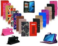 For Samsung Galaxy J6 2018 J600 New Black Leather Flip Wallet Phone Case Cover