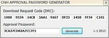 CNH Activator and Keymaker+Approval Password Generator v2013 Instant Delivery
