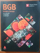 BGB BIOLOGIA Y GEOLOGIA  1 BACH. ISBN 9788468230535