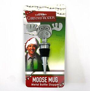 National Lampoon's Christmas Vacation Moose Mug Metal Bottle Stopper