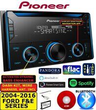 2004-2016 FORD F & E SERIES PIONEER CD BLUETOOTH AM/FM USB CAR RADIO STEREO PKG