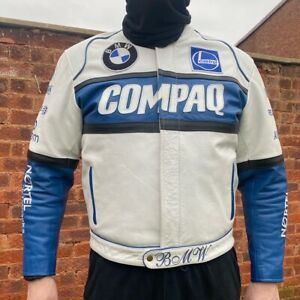 Vintage BMW Leather Racing Jacket