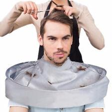 Hair Cutting Cloak Umbrella Cape Gown Cloth Salon Barbers Home Hairdressing US q