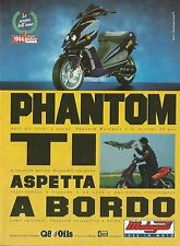 X1319 Phantom - Malaguti idee in moto - Pubblicità del 1995 - Vintage advert