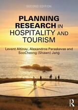 PLANNING RESEARCH IN HOSPITALITY AND TOURISM - ALTINAY, LEVENT/ PARASKEVAS, ALEX