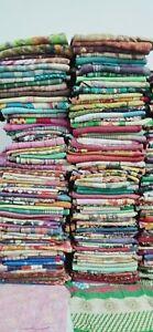10 PC Lot Handmade Indian Vintage Kantha Quilt Reversible Cotton Throw Wholesale