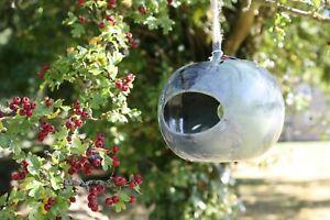 Apple Pod Bird Feeder