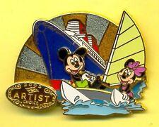 Disney Cruise Line DCL Artist Choice Mickey and Minnie Catamaran LE Pin