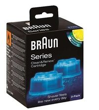 Braun CCR2 Clean and Renew Cartridge Lemonfresh 100% Original 2-Pack