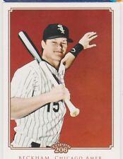 2010 Topps 206 #307 Gordon Beckham SP Chicago White Sox Baseball Card