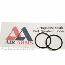 2 x Air Arms Magazine O Ring Seals s310 s410 s510 .177 & .22 - Part Number: S556